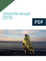 Informe anual 2015 del UIP