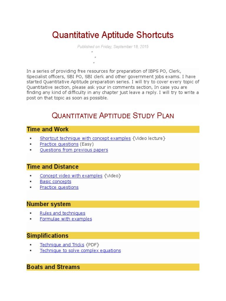 Work time pdf and shortcut tricks