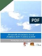 Desarrollo Económico Local. FORMACIÓN Y EDUCACIÓN