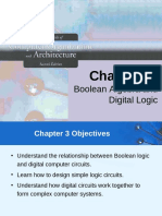 Boolean Alegbra and Digital Logic