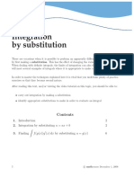 Intergration by Substitution