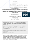 Hazeltine Research, Inc., Cross-Appellee v. Firestone Tire and Rubber Company, Cross-Appellant. Hazeltine Research, Inc., Cross-Appellant v. Firestone Tire and Rubber Company, Cross-Appellee, 468 F.2d 1277, 4th Cir. (1972)
