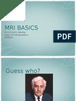 MRI Ppt Corrected
