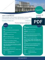AESGP RASCI Joint Conference 19 October Bucharest - Programme