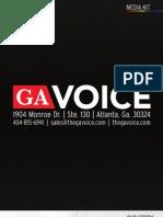 Georgia Voice Media Kit