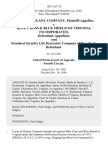 Coyne & Delany Company v. Blue Cross & Blue Shield of Virginia, Incorporated, and Standard Security Life Insurance Company of New York, 102 F.3d 712, 4th Cir. (1996)