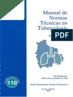 Manual de Normas Técnicas en Tuberculosis
