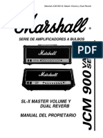 Manual Marshall JCM 900