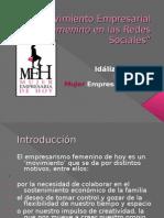 Movimiento Empresarial Femenino en Las Redes Sociales