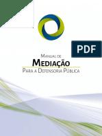 Manual de Mediação Para a Defensoria Pública