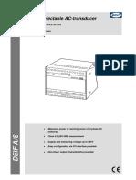 TAS-331DG Data Sheet 4921220036 UK