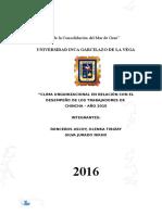 Año de La Consolidación Del Mar de Grau