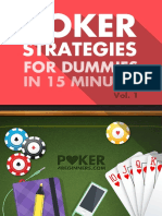 Poker Strategies for Dummies 15 Minutes