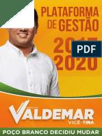 Valdemar e Tina - Plataforma de Gestão