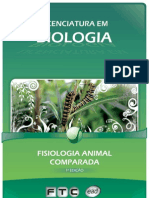 Licenciatura em Biologia - Fisiologia Animal Comparada
