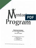 mentoring program handout