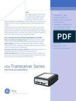 MDS Transceiver Series Data Sheet