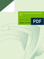 CUDA Installation Guide Linux