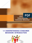 Unit 1 Understanding Consumer Behaviour