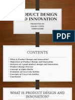 Product Design and Innovation
