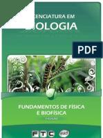 Licenciatura em Biologia - Fundamentos de Física e Biofísica