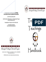 Medicine Wheel Traditional Teachings Booklet