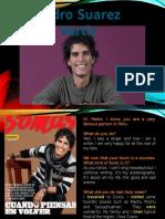 Pedro Suarez- Past simple