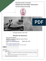 1° Informe (Datación absoluta y relativa)
