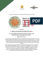 Materiales Didacticos Para Programas de Prevencion