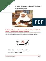 Hatim Al Awniy Enn Professeur Salafiste Approuve Yawm Un Nabi en Arabie Saoudite