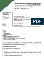 Norma de Protecci+¦n Contra Rayos NBR 5419.pdf