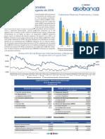 Reservas Internacionales Reporte Semanal 11-08-2016