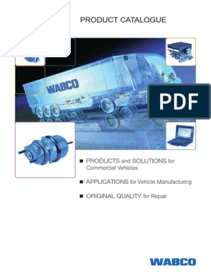 Catalogue Product WABCO   Brake   Anti Lock Braking System