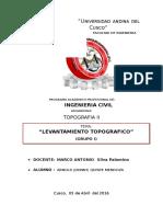 Informe(Arnold Johnny,Quispe Mendoza)
