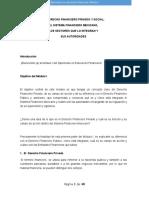 Módulo i El Derecho Fin. Priv y Soc