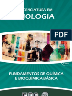 Licenciatura em Biologia - Fundamentos de Química e Bioquímica Básica