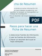 Ficha de Resumen