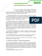 3. Documento Estrategias y Metodos de Enseñanza en La Universidad (Santiago Correa)