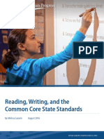 Reading, Writing, and the Common Core State Standards