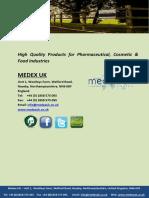 Medex Brochure 2014