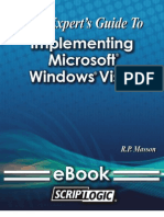 Administrator's Guide to Implementing Windows Vista