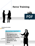 Train the Sales Force