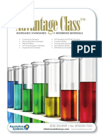 Advantage Class Certified Standards & Reference Materials