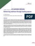 05-RESTORATIVE GARDEN DESIGN Enhancing Wellness Through Healing Spaces