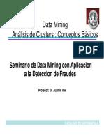 Data Mining-ESPE - Clase 3 - Clustering JMA