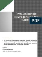 2 Evaluación de Competencias Por Rúbrica