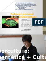 Cibercultura Reflexion