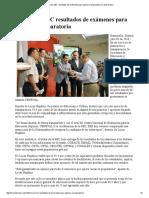 03/07/16 Informará SEC resultados de exámenes para ingreso a preparatoria -Canal Sonora