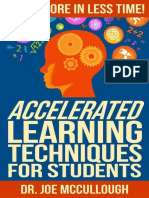 Accelerated Learning Techniques by Joe McCullough