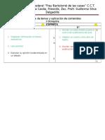 Secuencia de Temas y Aplicación de Contenidos 5º y 6º III Bim A